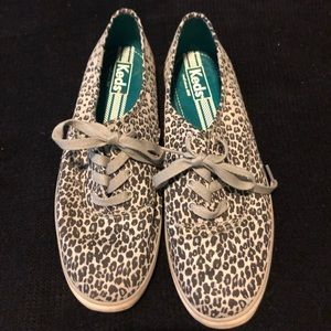 Keds Snow Leopard print sneakers